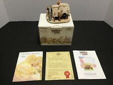 Lilliput Lane Watermill 1989 Mini Masterpiece Made In Uk Excellent Condition Box