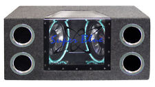 New BNPS102 Dual 10'' 1000 Watt Bandpass Speaker System w/Neon Accent Lighting