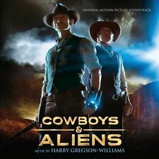 Cowboys & Aliens Soundtrack CD (library casing)