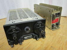 Vintage King KX-160 Nav/Com with KS-505 Power Supply 14/28 Volt, excellent cndx