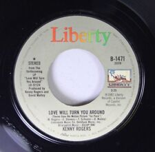 Country 45 Kenny Rogers - Love Will Turn You Around / I Want A Son On Liberty