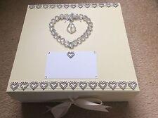 Anniversary keepsake memory box, birthday/Wedding/Engagement gift. Bereavement.