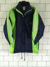 Urban Antigua Retro Vintage Abrigo Chaqueta Acolchada Adidas deportes atléticos tamaño de Reino Unido M/L