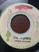 "The Heptones-Soul Sister 7"" Vinyl Single ROOTS REGGAE"