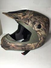 Fulmer JX3 DOT FMVSS NO. 218 Camo Helmet Youth Medium