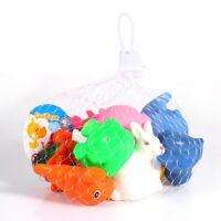 Pedazo de 12 animales forma pato flotante baño ducha juguete agua jugar para