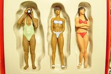 NEW Preiser G scale 45013 Photographer & Swimmers Figures