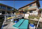 Mid Century Modern Fibrella surfboard Lounge Patio Pool Chairs X 2