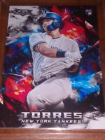 2018 Topps Fire Gleyber Torres Rookie NY Yankees!