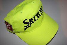 NEW SRIXON GOLF Z STAR TOUR YELLOW ADJUSTABLE HAT - FLUORESCENT YELLOW