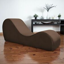 Liberator Kama Sutra Chaise & Tantra Lounger - Espresso Micro-velvet