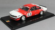 Spark BMW 635 CSi Spa 24 Hour 1985 Winkelhock, Regout & Gartner SB066 1/43 NEW