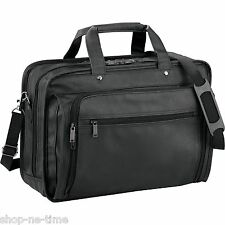 "Leeds DuraHyde Compu-Attaché 17"" Laptop / MacBook Pro Business Bag - New"