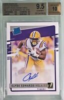 Clyde Edwards-Helaire 2020 Panini Chronicles Donruss Rated Rookie Autograph