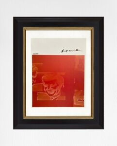 Andy Warhol 1987 Original Print, Hand Signed with Certificate of Authenticity