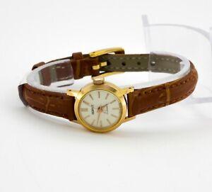PIERPONT mechanical Swiss made gold plated watch, cal. ETA 1170, shockproof