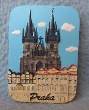 Praha Prague Russia 3D Magnet, Souvenir, Travel, Refrigerator b