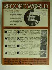 Record World Mag May 20, 1972 Main Ingreidient, Hank Williams Jr, Susan Raye