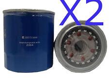2x Oil Filter Suits Ryco Z334 DAIHATSU DELTA DIESEL V138 / V158 3L 2004-ON