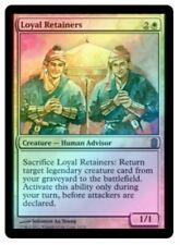 MTG X1: Loyal Retainers **FOIL**, Commander's Arsenal, M, Moderate Play