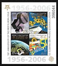 Europa 50 years mnh souvenir sheet 2006 Bosnia & Herzegovina (Croat Admin)