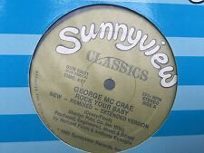 "GEORGE MC CRAE ROCK YOUR BABY 12"" 1985 SUNNYVIEW SUN 33001"