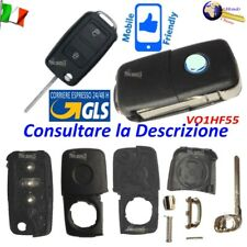 Telecomando CHIAVE GUSCIO VO1HF55 LAMAFLIP 2TASTI per VW per SKODA Fabia Octavia