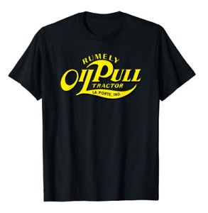 Rumley Oil Pull Tractor Logo T-Shirt