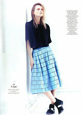 $675 NWT Tibi Raffia Patchwork Coated Midi Full Pleated Skirt 4