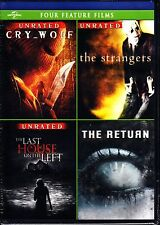 CRY WOLF / THE STRANGERS / LAST HOUSE ON THE LEFT / THE RETURN DVD JON BON JOVI