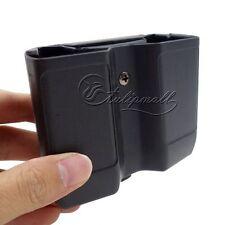 Universal Duty Belt Double Pistol Magazine Pouch Mag Case Cartridge Clip Holder