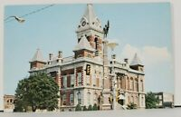 Indiana Gibson County Court House Courthouse Postcard D14