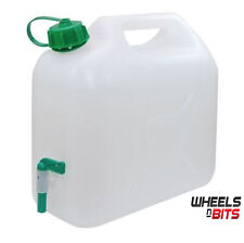 15litre Plastic Garden Camping Caravan Water Carrier Fluid Jerry Can with tap