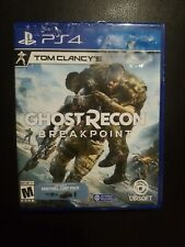 Ps4 Tom Clancy's Ghost Recon Breakpoint (PlayStation 4, 2019) Free USA Shipping