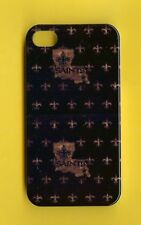 NEW ORLEANS SAINTS 1 Piece Glossy Case / Cover iPhone 4 / 4S (Design 15)+ Stylus