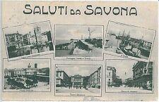 CARTOLINA d'Epoca - SAVONA Città: SALUTI 1917