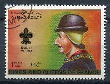TIMBRE  ROI DE FRANCE LOUIS XI