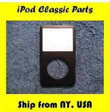 BLACK Replacement Front Cover Apple iPod Classic 6th & 7th Gen 80GB/120GB/160GB