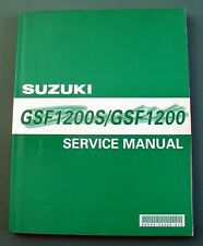 Suzuki GSF1200 K1 & GSF1200S K1 BANDIT 2001 Genuine Workshop Manual **XMAS**