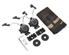 Z-TACTICAL Comtac Helmet Rail Adapter Set NERO BLACK BK AIRSOFT SOFTAIR