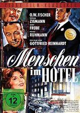 Menschen im Hotel - DVD mit O. W. Fischer Heinz Rühmann Gert Fröbe Pidax Neu Ovp