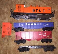 Lionel O Scale DT&I 8111 And Three Cars