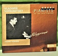 Classical 2 CD: Vladimir Sofronitsky - Chopin / Sciabin - Philips 456 970-2
