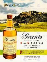 DRINK ALCOHOL SCOTCH WHISKY STIRLING CASTLE SCOTLAND USA ART PRINT POSTER CC221