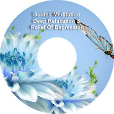 2 x Guided Meditation Relief Of Depression & Bonus Deep Relaxation on 1 CD