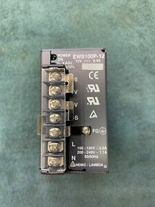 Nemic-Lambda Power Supply # EWS100P-12VDC   8.4A