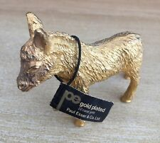 24 CARAT GOLD PLATED DONKEY - BY -  PAUL ESSER & CO LTD