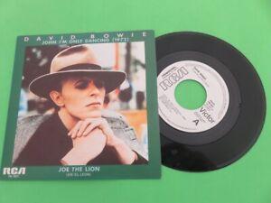 "DAVID BOWIE - JOHN I'M ONLY DANCING - RARE PROMO SPAIN  7"" SINGLE 1976"
