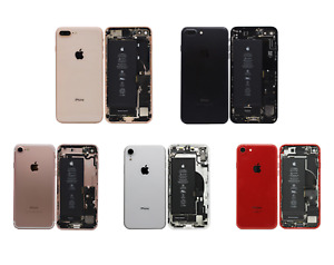 Back Housing Rear Frame Assembly Kit For Apple iPhone 6s 7 8 Plus X XR (GRADE A)