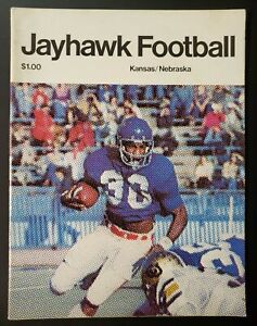 Kansas Nebraska Cornhuskers Football Program 10/30 1976 Laverne Smith Ferragamo
